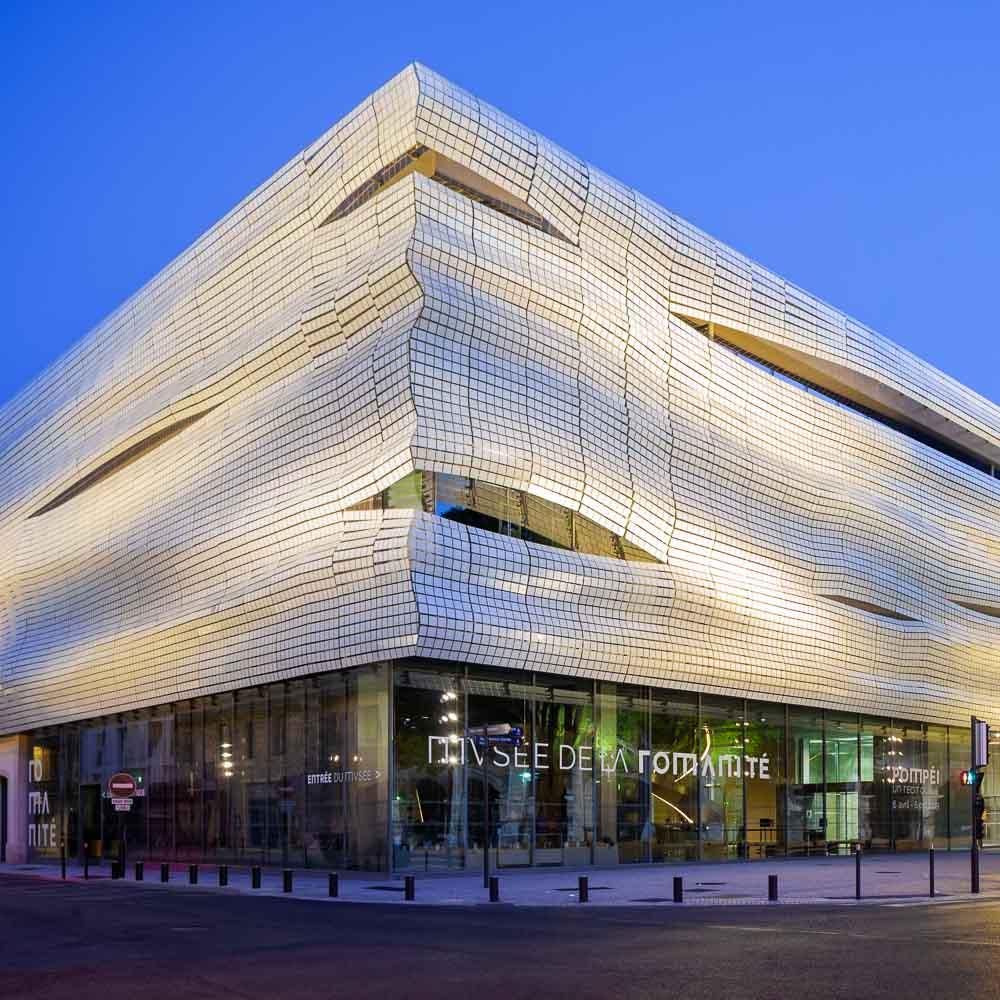 Architecture moderne: Musée de la Romanité, Nîmes
