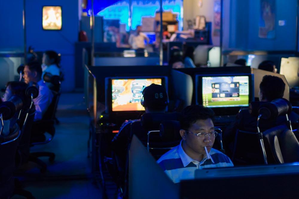 Cybercafé, Séoul, Corée du Sud