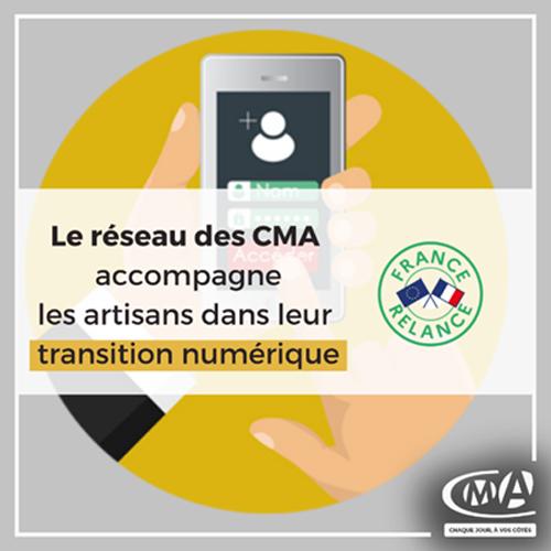 Plan numérique des CMA Normandie