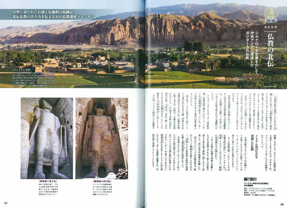 Publication de Vincent Prévost, site archéologique bouddhiste de Bamyan, Afghanistan