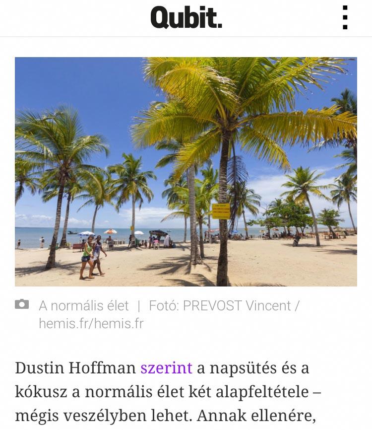 Publication de Vincent Prévost, plage brésilienne