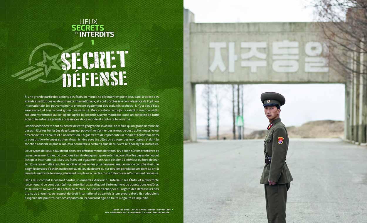 Publication de Vincent Prévost, garde frontière sur la DMZ, Corée du Nord