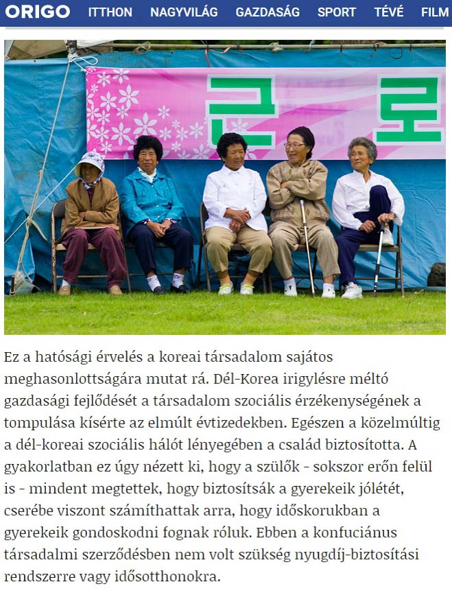 Publication de Vincent Prévost, groupe de femmes âgées, Corée du Sud