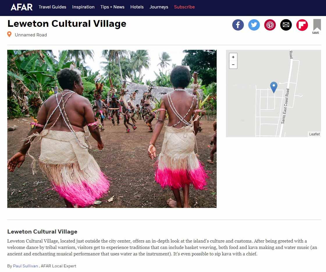 Publication de Vincent Prévost, danse rituelle, îles Vanuatu