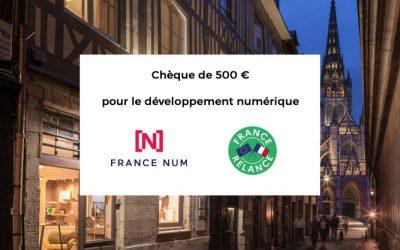 Tout savoir sur le chèque France Num de 500€