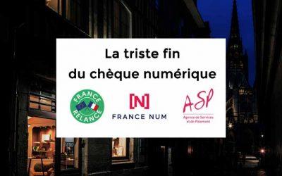 Chèque numérique France Num de 500€: l'heure du bilan